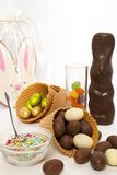 Easter sweets Stock Photo