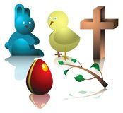 Easter symbolic Stock Images