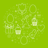 Easter symbols Royalty Free Stock Photo