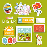 Easter Symbols - Objects Set Royalty Free Stock Photos
