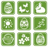Easter symbols set Royalty Free Stock Photography