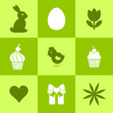 Easter symbols. Stock Image