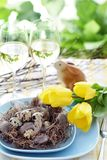 Easter table Royalty Free Stock Photo