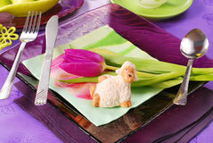 Easter table decoration Stock Image