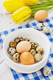 Easter table decoration Royalty Free Stock Images