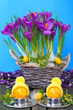 Easter table, Easter breakfast Royalty Free Stock Photography