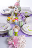 Easter table Royalty Free Stock Images