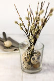Easter table setting Royalty Free Stock Photo