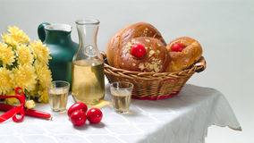 Easter table. Stock Photo