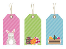Easter tags Royalty Free Stock Photo