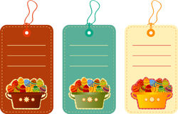 Easter tags Royalty Free Stock Photos