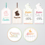 Easter tags 1 Stock Image