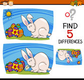 Easter task of differences Stock Photo