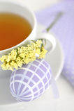 Easter Tea Time Stock Images