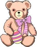 EASTER TEDDY BEAR Stock Photos