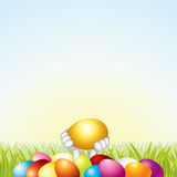 Easter Template stock image
