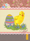 Easter template Royalty Free Stock Photo