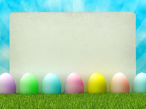 Easter template design Royalty Free Stock Images