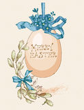 Easter template design Stock Image