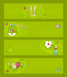 Easter templates Royalty Free Stock Photography