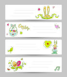 Easter templates Royalty Free Stock Photo