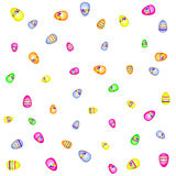 Easter texture vector illustration