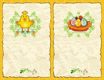 Easter textured backgrounds. Royalty Free Stock Photos