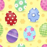 Easter theme seamless background 1 Royalty Free Stock Images