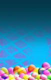 Easter Themed Background Royalty Free Stock Photos