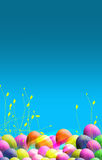 Easter Themed poster Royalty Free Stock Images