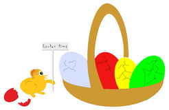 Easter time. Royalty Free Stock Image