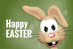 Easter Time Easter Bunny Eggs. Graphic Illustration Royalty Free Stock Photography