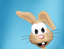Easter Time Easter Bunny Eggs. Graphic Illustration design Royalty Free Stock Images