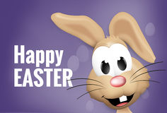 Easter Time Easter Bunny Eggs. Graphic Illustration design Stock Photo