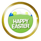 Easter Time. Festive graphic illustration design Stock Photos