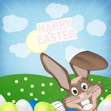 Easter Time. Fresh Creative Design Stock Images