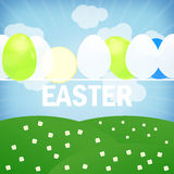 Easter Time. Fresh Creative Design Stock Image