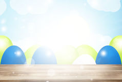 Easter time. Graphic illustration design Stock Photography
