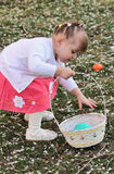 Easter Toddler Royalty Free Stock Photo