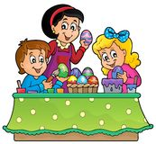 Easter topic image 1 Stock Photo