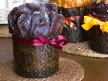 easter tortowy czekoladowy glazerunek Zdjęcie Royalty Free