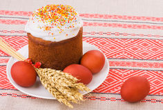 Easter tradition food Stock Images