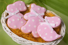 Easter traditional Gingerbread cookies Royalty Free Stock Photography