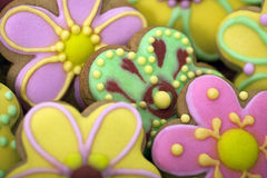 Easter traditional Gingerbread cookies Royalty Free Stock Image