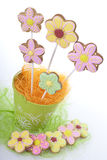 Easter traditional Gingerbread cookies Stock Images