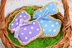 Easter traditional Gingerbread cookies Royalty Free Stock Photo