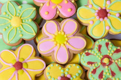 Easter traditional Gingerbread cookies Royalty Free Stock Photos