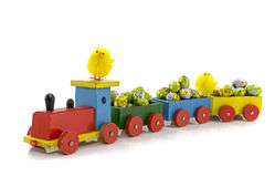 Easter train Royalty Free Stock Photo