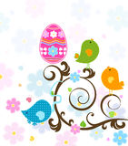 Easter tree royalty free illustration
