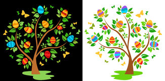 Easter tree Royalty Free Stock Photo